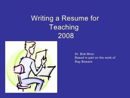 Fresher Resume sample for Teacher - Templatenet